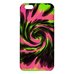 Swirl Black Pink Green Iphone 6 Plus/6s Plus Tpu Case by BrightVibesDesign