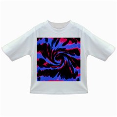 Swirl Black Blue Pink Infant/toddler T Shirts by BrightVibesDesign