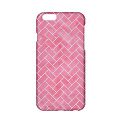 Brick2 White Marble & Pink Watercolor Apple Iphone 6/6s Hardshell Case