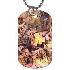 Spring Flowers Dog Tag (one Side)