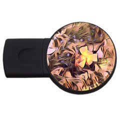 Spring Flowers Usb Flash Drive Round (4 Gb)
