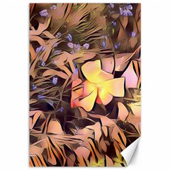Spring Flowers Canvas 12  X 18