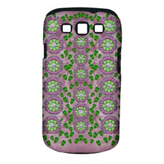 Ivy And  Holm Oak With Fantasy Meditative Orchid Flowers Samsung Galaxy S Iii Classic Hardshell Case (pc+silicone)