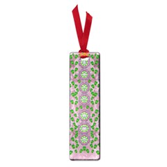 Ivy And  Holm Oak With Fantasy Meditative Orchid Flowers Small Book Marks