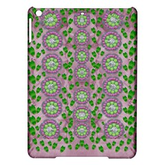 Ivy And  Holm Oak With Fantasy Meditative Orchid Flowers Ipad Air Hardshell Cases