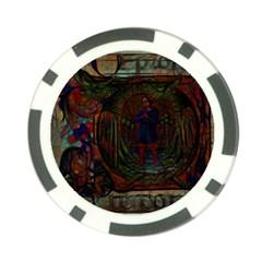 Choir Dragon Poker Chip Card Guard
