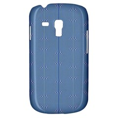 Mod Twist Stripes Blue And White Galaxy S3 Mini by BrightVibesDesign
