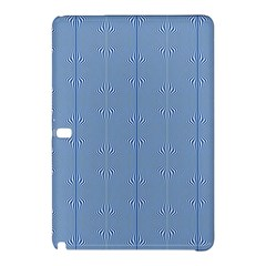 Mod Twist Stripes Blue And White Samsung Galaxy Tab Pro 10 1 Hardshell Case
