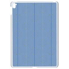 Mod Twist Stripes Blue And White Apple Ipad Pro 9 7   White Seamless Case
