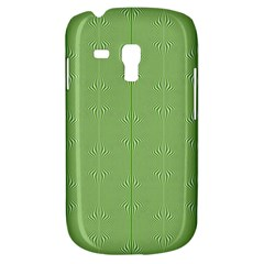 Mod Twist Stripes Green And White Galaxy S3 Mini by BrightVibesDesign