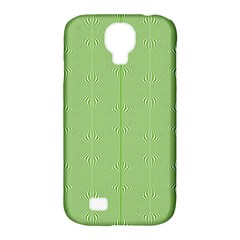 Mod Twist Stripes Green And White Samsung Galaxy S4 Classic Hardshell Case (pc+silicone)