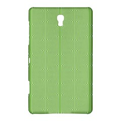 Mod Twist Stripes Green And White Samsung Galaxy Tab S (8 4 ) Hardshell Case