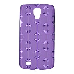 Mod Twist Stripes Purple And White Galaxy S4 Active