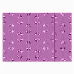 Mod Twist Stripes Pink And White Large Glasses Cloth (2 Side)