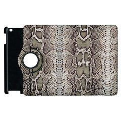 Snake Skin Apple Ipad 2 Flip 360 Case