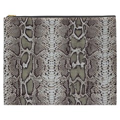 Snake Skin Cosmetic Bag (xxxl)