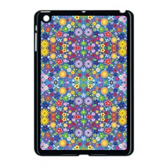 Colorful Flowers Apple Ipad Mini Case (black)