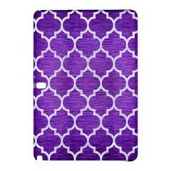 Tile1 White Marble & Purple Brushed Metal Samsung Galaxy Tab Pro 12 2 Hardshell Case