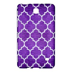 Tile1 White Marble & Purple Brushed Metal Samsung Galaxy Tab 4 (8 ) Hardshell Case  by trendistuff
