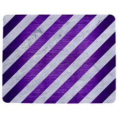 Stripes3 White Marble & Purple Brushed Metal (r) Jigsaw Puzzle Photo Stand (rectangular)