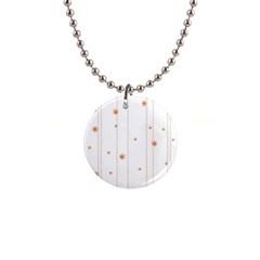 Background Salmon Pink White Motive Button Necklaces