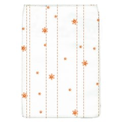 Background Salmon Pink White Motive Flap Covers (l)  by Sapixe