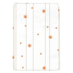 Background Salmon Pink White Motive Flap Covers (s)  by Sapixe