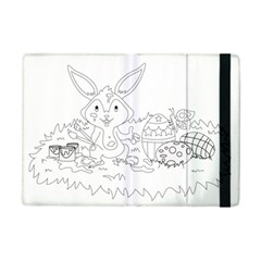 Coloring Picture Easter Easter Bunny Ipad Mini 2 Flip Cases by Sapixe