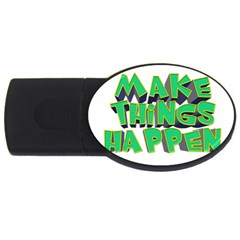 Act Do Text Make Tackle Implement Usb Flash Drive Oval (2 Gb) by Sapixe