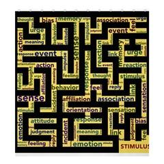 Mindset Stimulus Response Emotion Shower Curtain 66  X 72  (large)