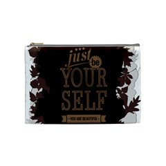 Encourage Motivation Tackle Things Cosmetic Bag (medium)