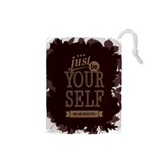 Encourage Motivation Tackle Things Drawstring Pouches (small)