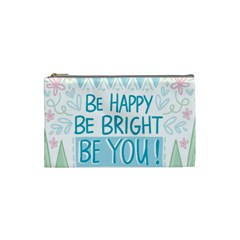 Motivation Positive Inspirational Cosmetic Bag (small)