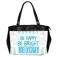 Motivation Positive Inspirational Office Handbags (2 Sides)  by Sapixe