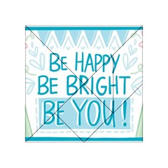Motivation Positive Inspirational Acrylic Tangram Puzzle (4  X 4 ) by Sapixe