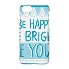 Motivation Positive Inspirational Apple Iphone 8 Hardshell Case