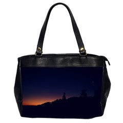Nature Night Colorful Landscape Office Handbags (2 Sides)