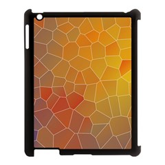 Colors Modern Contemporary Graphic Apple Ipad 3/4 Case (black) by Sapixe