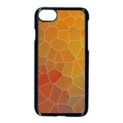 Colors Modern Contemporary Graphic Apple Iphone 8 Seamless Case (black)