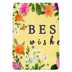 Best Wishes Yellow Flower Greeting Flap Covers (l)