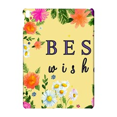 Best Wishes Yellow Flower Greeting Apple Ipad Pro 10 5   Hardshell Case