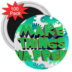 Gears Gear Interaction Act Do 3  Magnets (100 Pack) by Sapixe