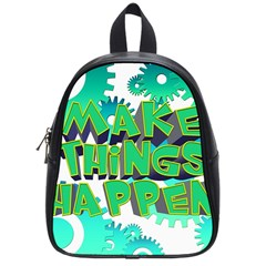 Gears Gear Interaction Act Do School Bag (small) by Sapixe