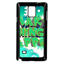 Gears Gear Interaction Act Do Samsung Galaxy Note 4 Case (black) by Sapixe