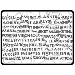Success Business Professional Fleece Blanket (large)