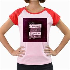 Beautiful Things Encourage Women s Cap Sleeve T Shirt