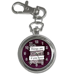 Beautiful Things Encourage Key Chain Watches by Sapixe