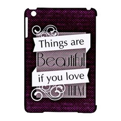 Beautiful Things Encourage Apple Ipad Mini Hardshell Case (compatible With Smart Cover) by Sapixe