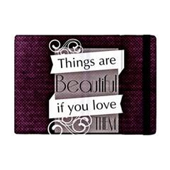 Beautiful Things Encourage Ipad Mini 2 Flip Cases by Sapixe