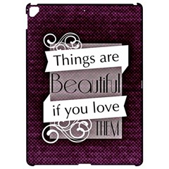 Beautiful Things Encourage Apple Ipad Pro 12 9   Hardshell Case by Sapixe